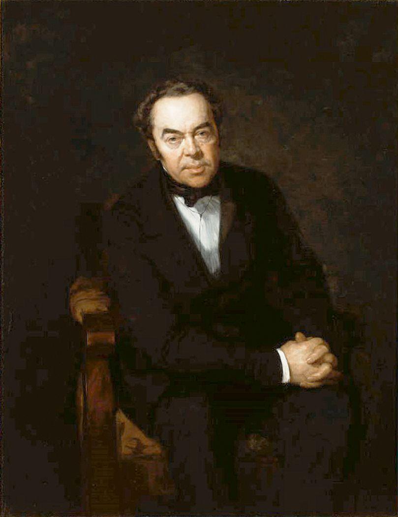 Генрік Родаковський. Портрет батька, 1850