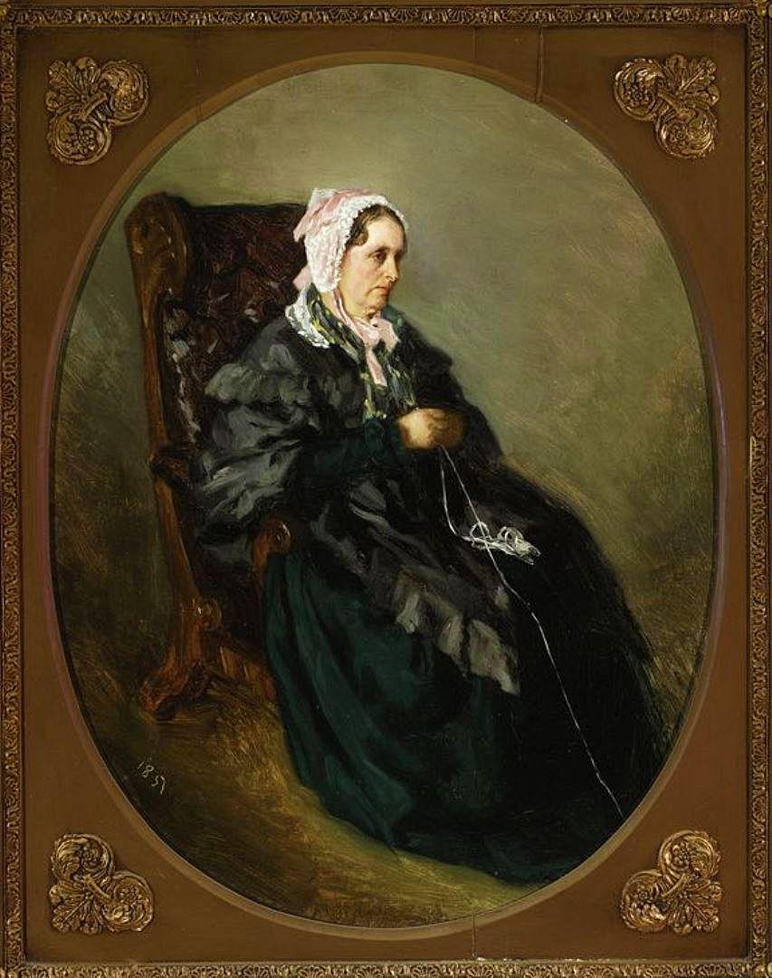 Генрік Родаковський. Портрет тітки художника, 1851