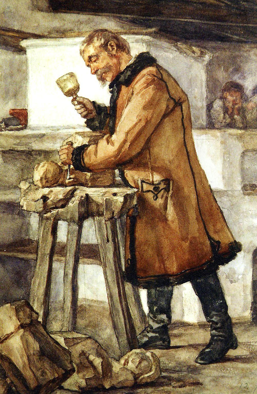 Генрік Родаковський. Сільський різьбяр, с. Палагичі, 1867
