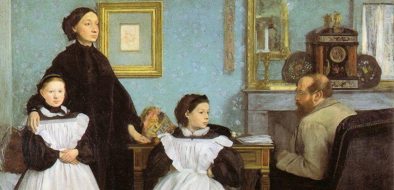Дега Сім'я Беллелі (1858-1862)