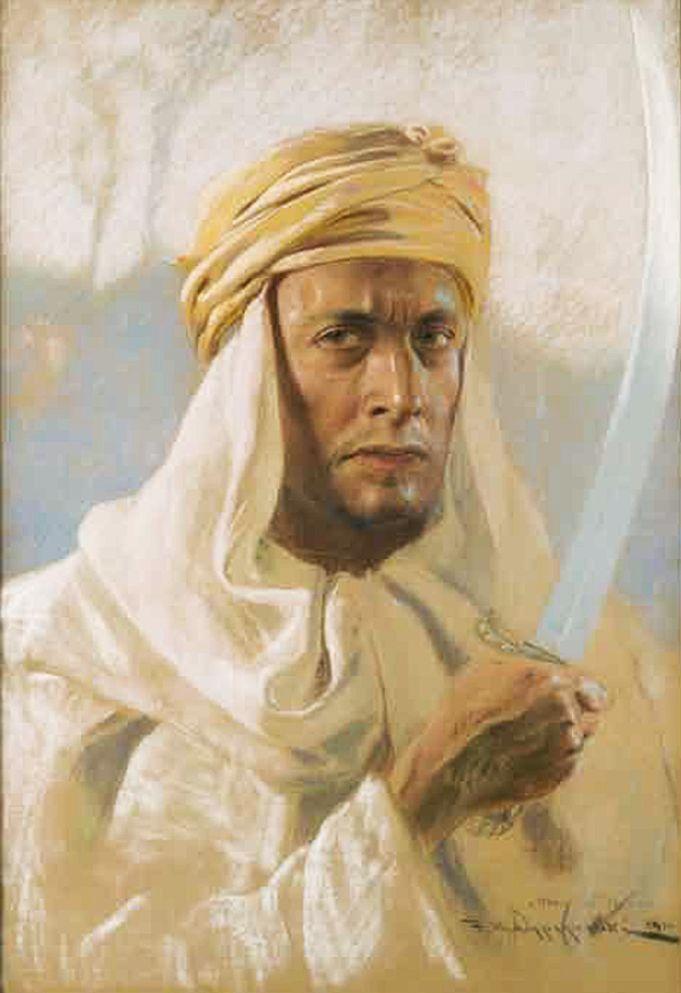 Фелікс Вигживальський. Захисник ісламу (Автопортрет), 1931