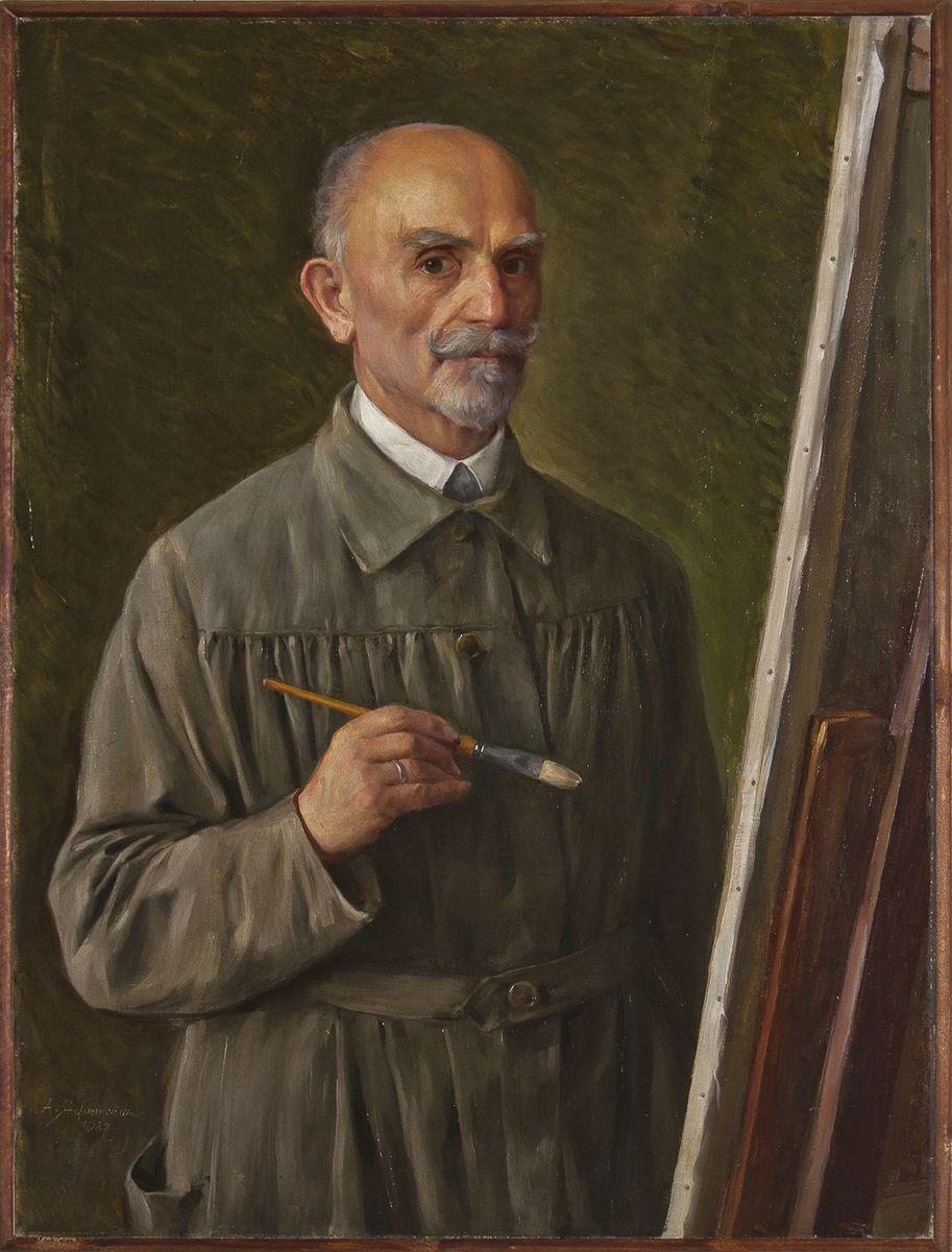 Антоні Стефанович. Автопортрет, 1927