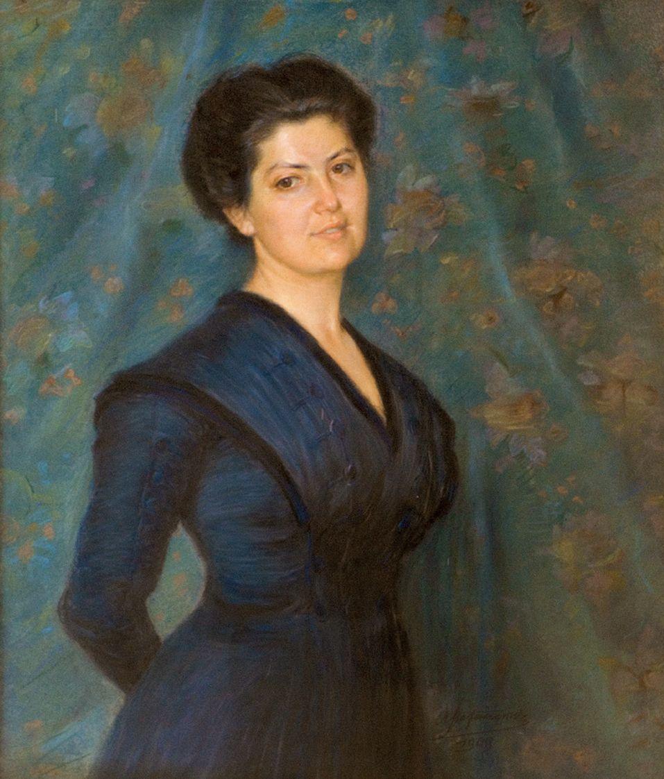 Антоні Стефанович. Портрет доньки художника, 1909