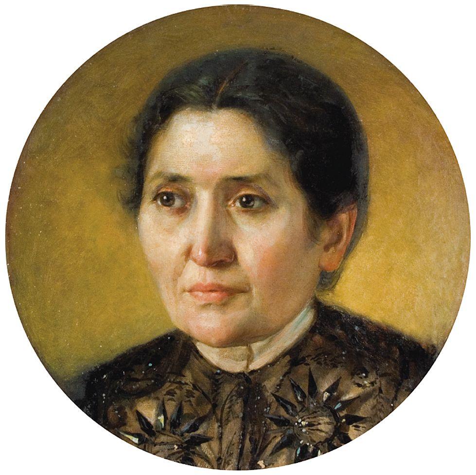 Антоні Стефанович. Портрет жінки