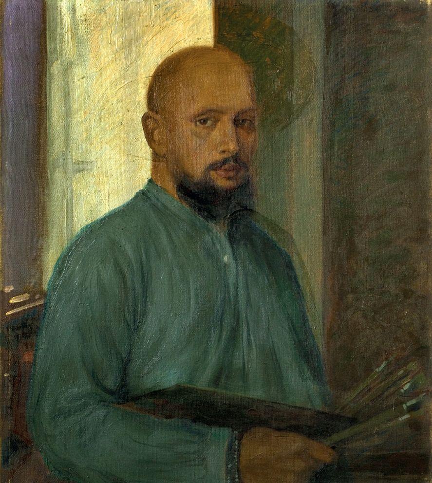 Каєтан Стефанович. Автопортрет, 1910