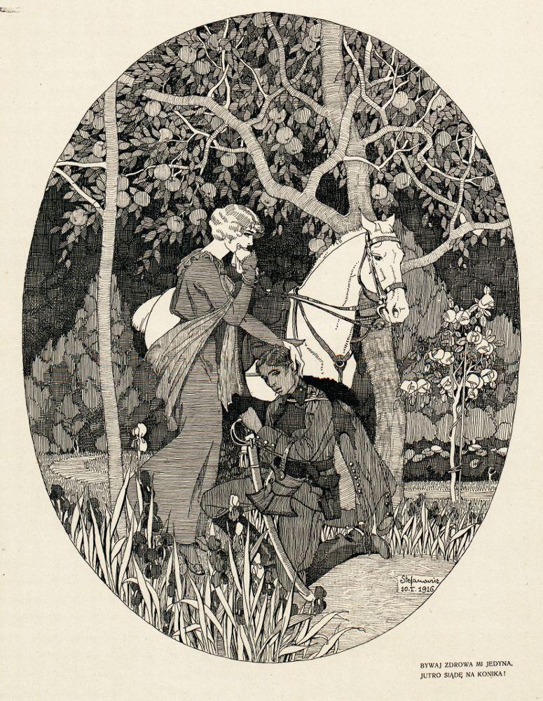 Каєтан Стефанович. Пісня легіонера, 1916
