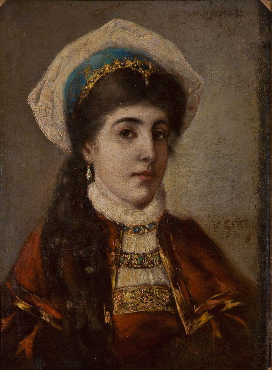 Маурицій Ґотліб. Єврейська наречена, 1876