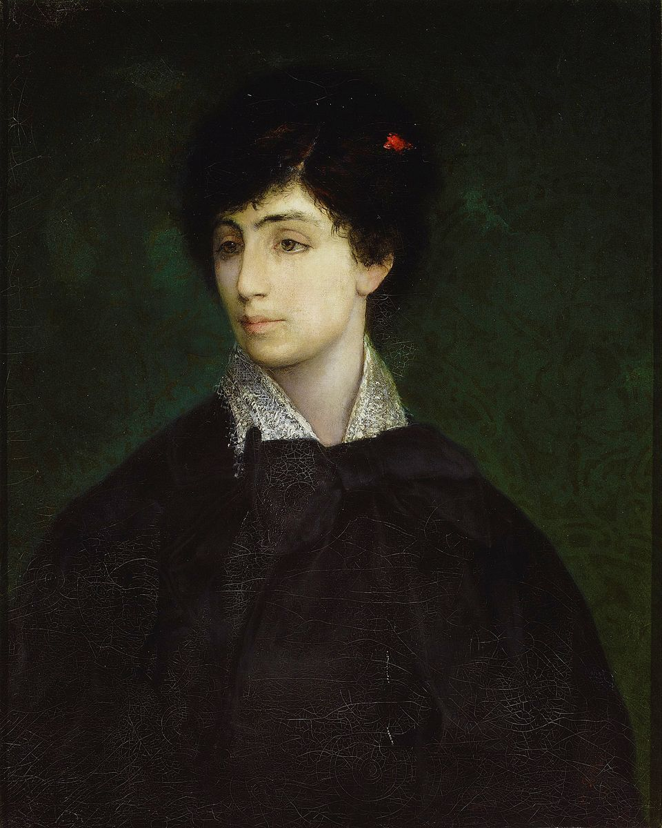Маурицій Ґотліб. Молода єврейка, 1879