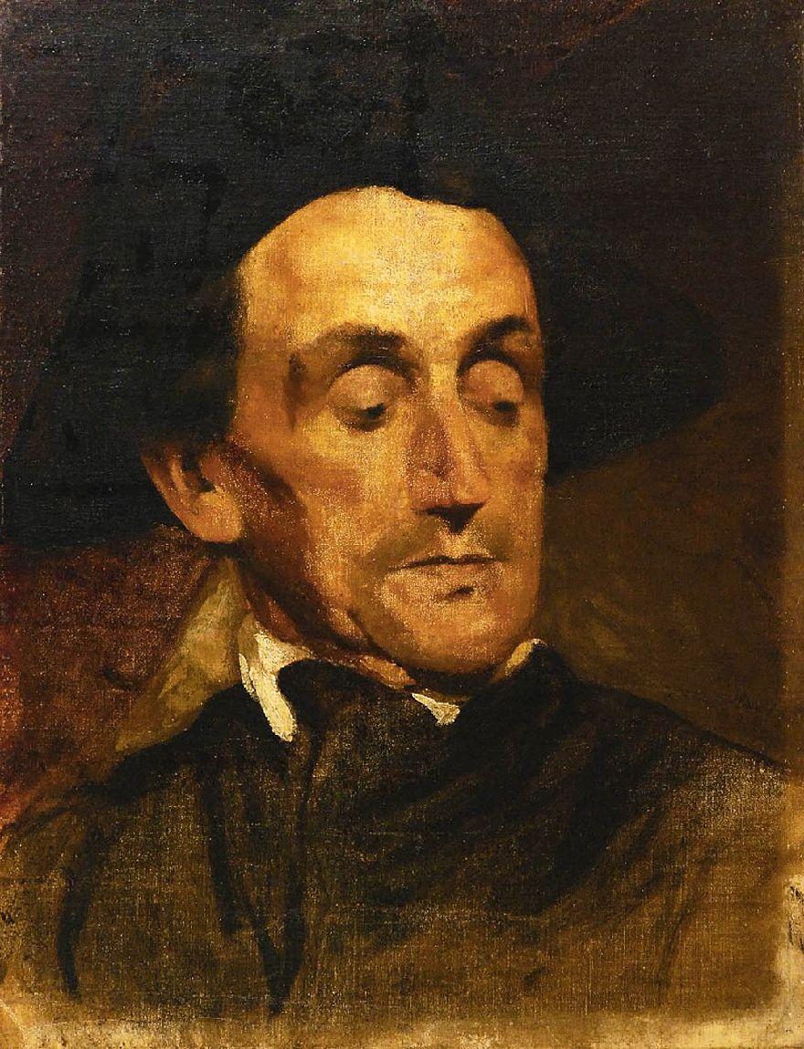 Маурицій Ґотліб. Портрет актора, 1878