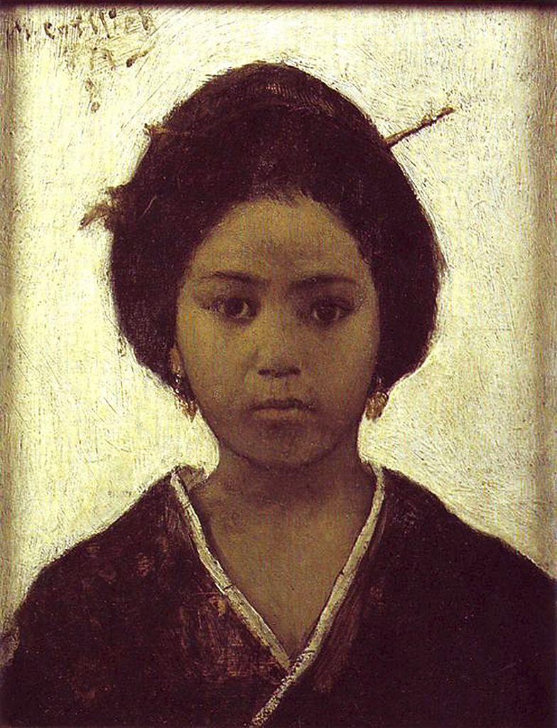 Маурицій Ґотліб. Японка, 1879