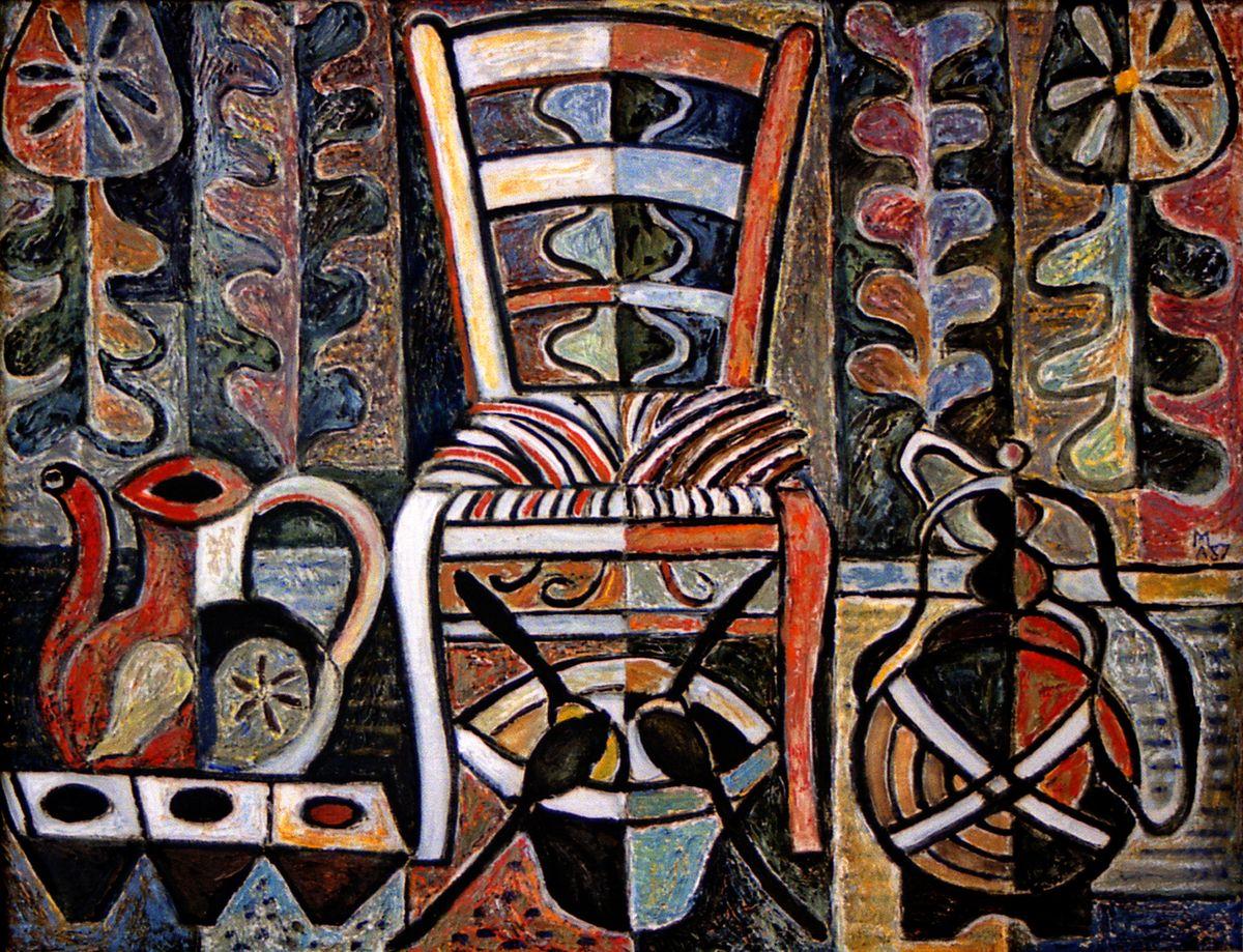 Микола Андрущенко. Болгарський натюрморт, 1987