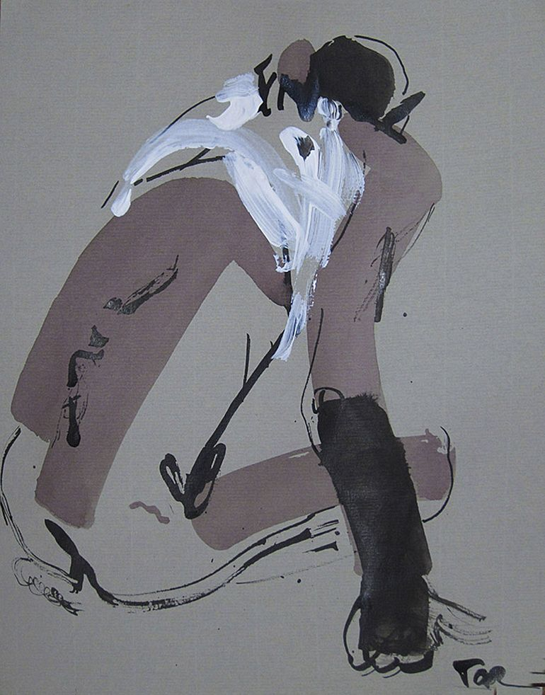 Тетяна Тарасенко. Ню