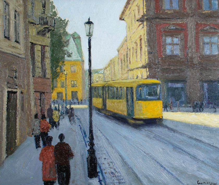 Петро Сипняк. Жовтий трамвай, 2007