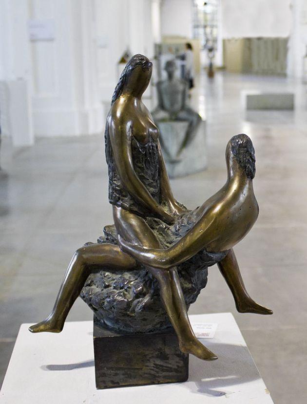 Василь Ярич. Діалог культур #2, 2011, бронза