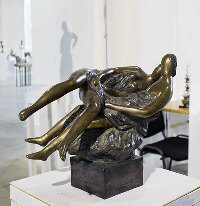 Василь Ярич. Діалог культур #3, 2011, бронза