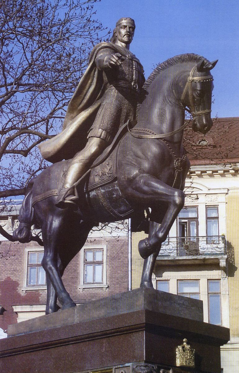 Василь Ярич. Пам'ятник королю Данилу Галицькому, Львів, 2001