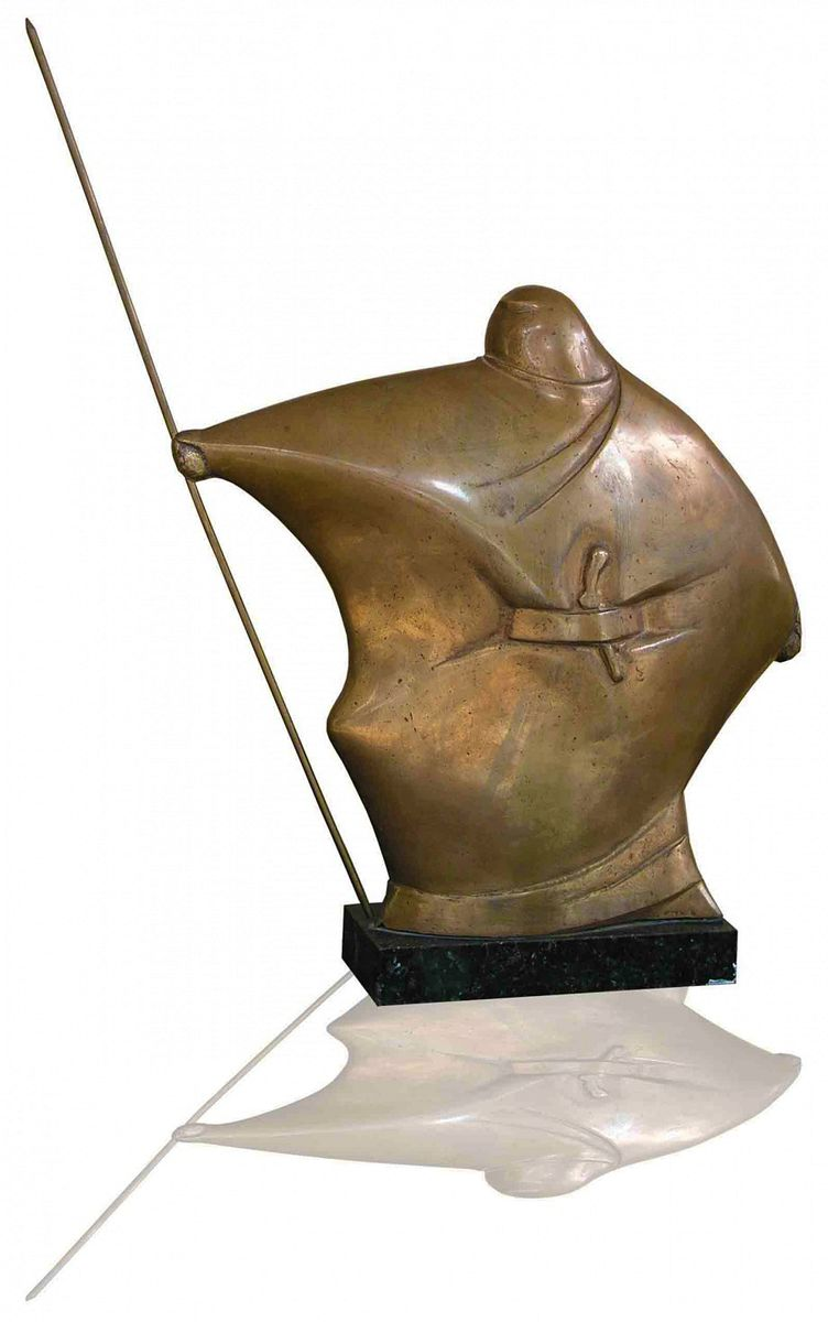 Василь Ярич. Воїн, 1988, бронза