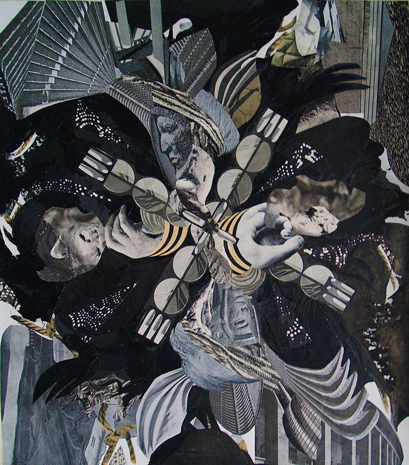 Олександр Кшивоблоцький. Композиція фотоколаж, 1949-1970-ті
