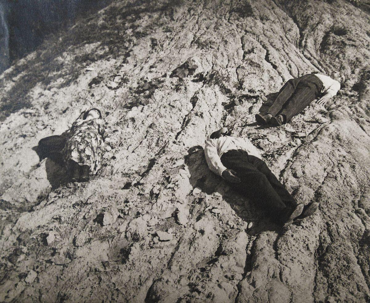 Олександр Кшивоблоцький. Композиція з фігурами, що лежать, 1930 фото