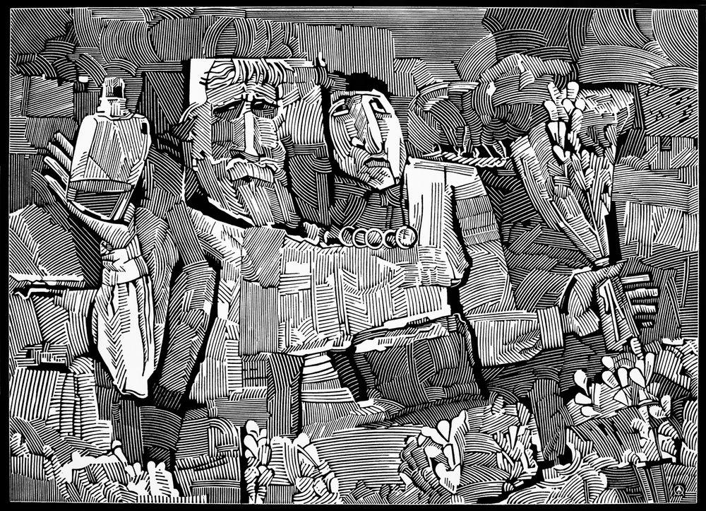 Микола Опанащук. Вербна неділя, 2004
