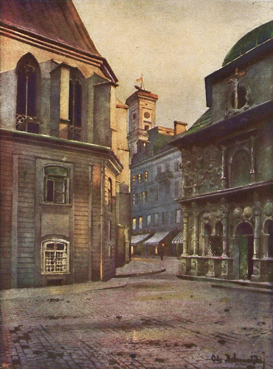 Одо Добровольський. Львів Каплиця Боїмів, 1910