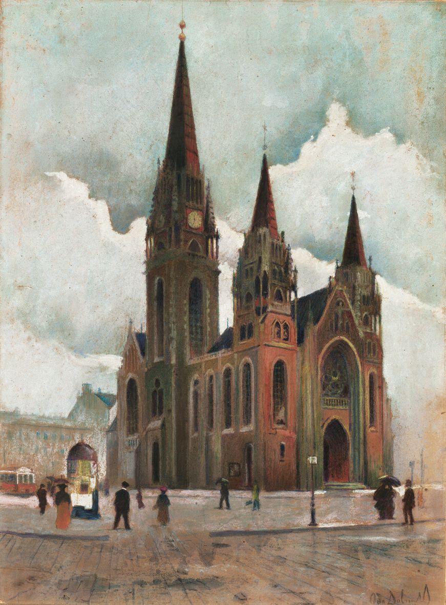 Одо Добровольський. Костел св Ельжбети, 1903
