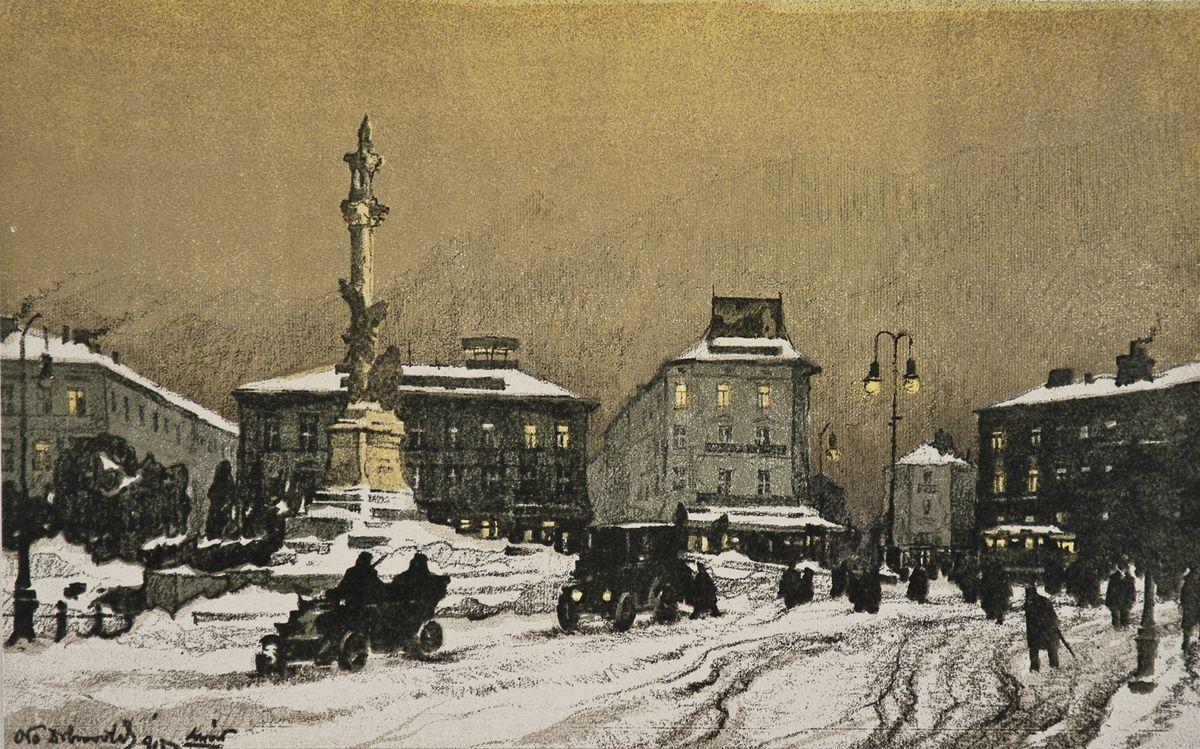 Одо Добровольський. Маріацька пл. 1915