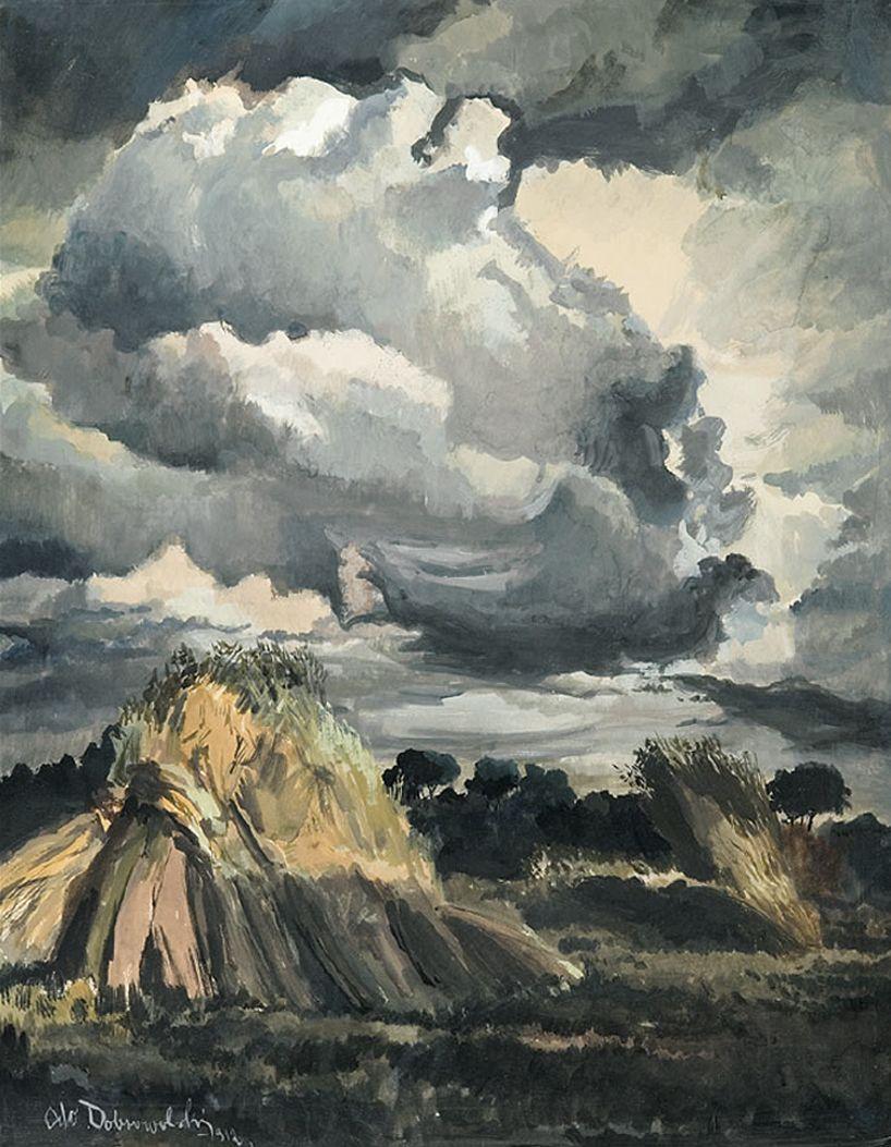 Одо Добровольський. Перед бурею, 1912