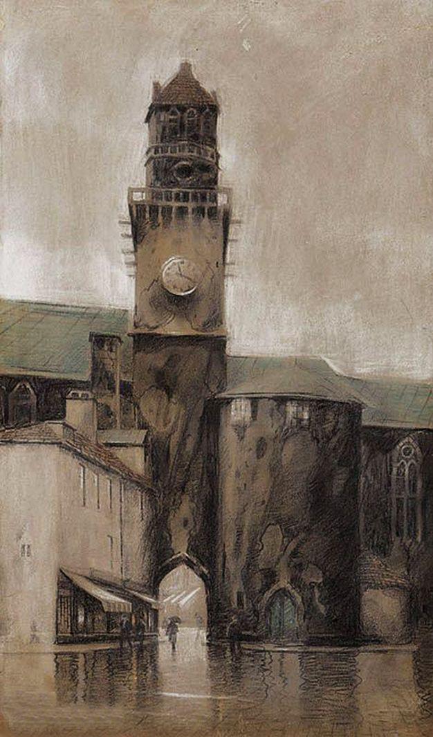 Одо Добровольський. Руан катедра, 1912
