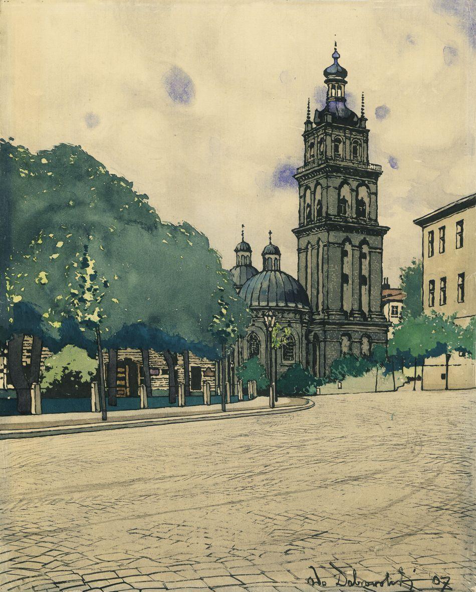 Одо Добровольський. Волоська церква, 1907