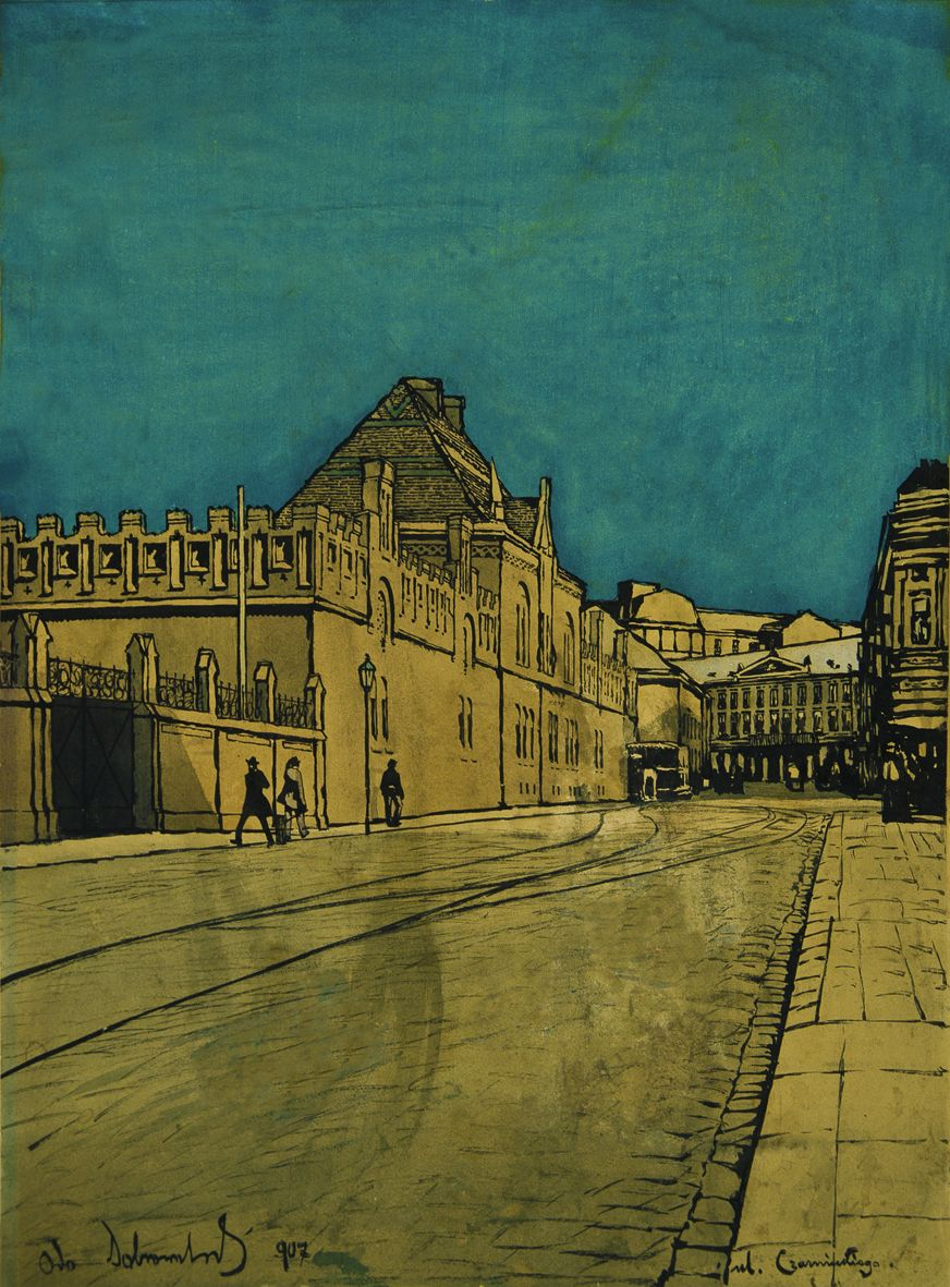 Одо Добровольський. Львів вул Чарнєцкєго, 1907
