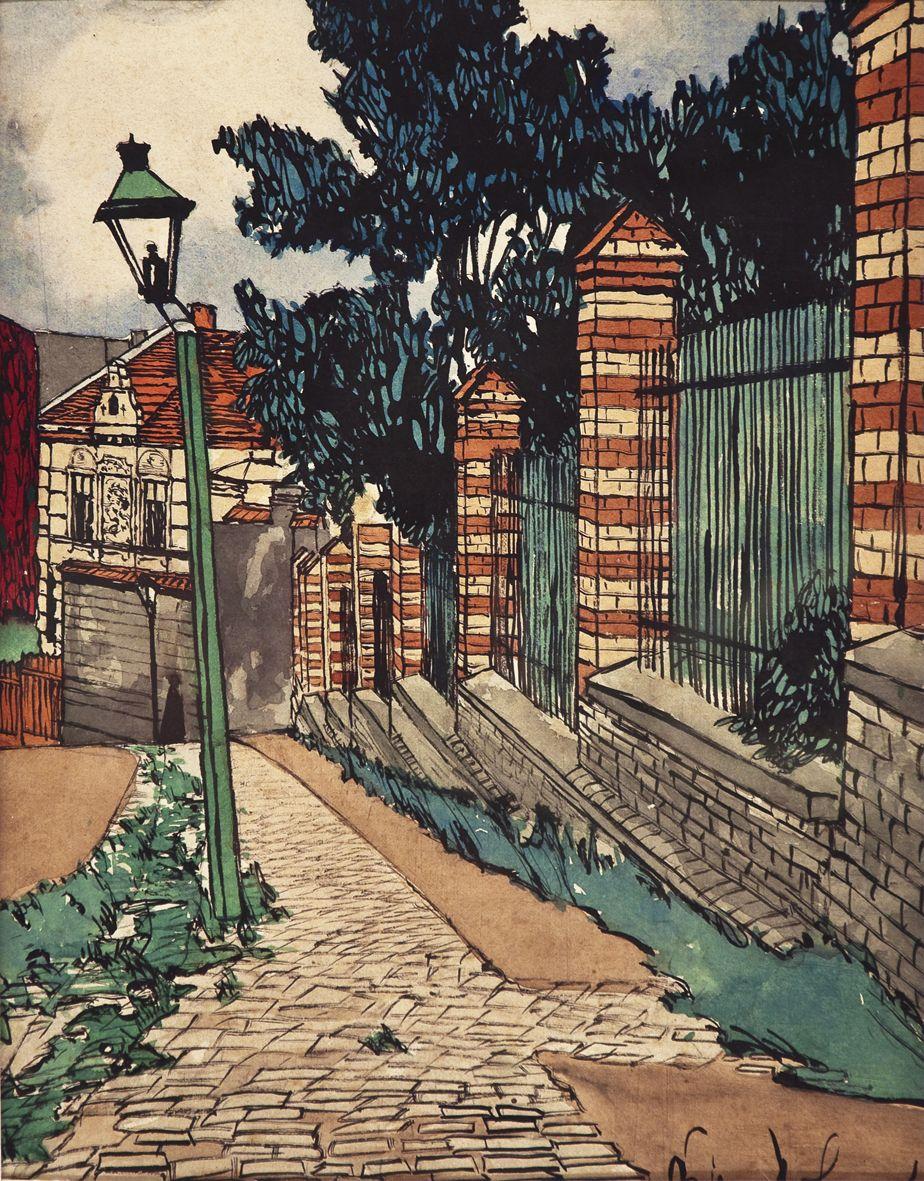 Одо Добровольський. Львів вул Цитадельна, 1907