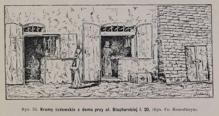 Францішек Ковалишин. вул.Blacharska 20 (нині вул.Федорова І.)