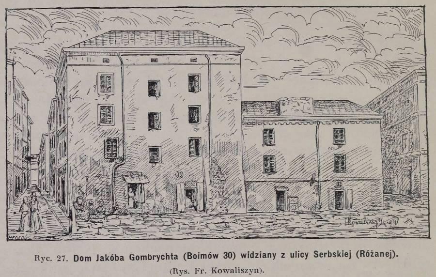 Францішек Ковалишин. вул.Boimów 30 (нині вул.Староєврейська)