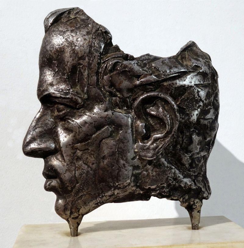 Олег Капустяк. Портрет колеги, 2012