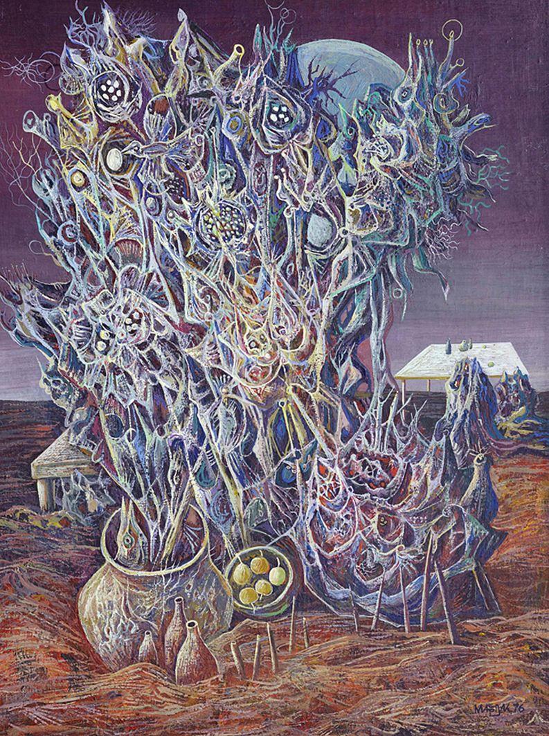 Іван Марчук. Місячні квіти, 1976