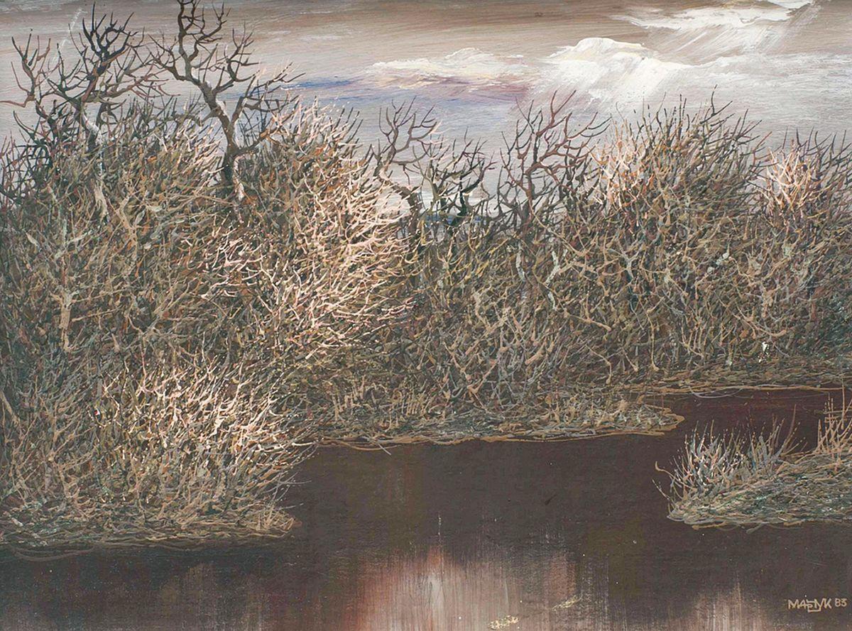Іван Марчук. Перед дощем, 1983