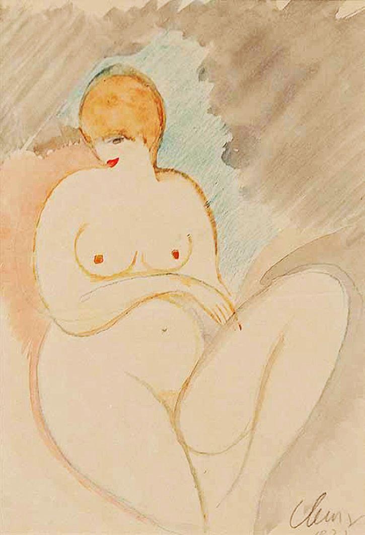 Леон Хвістек. Акт, 1932
