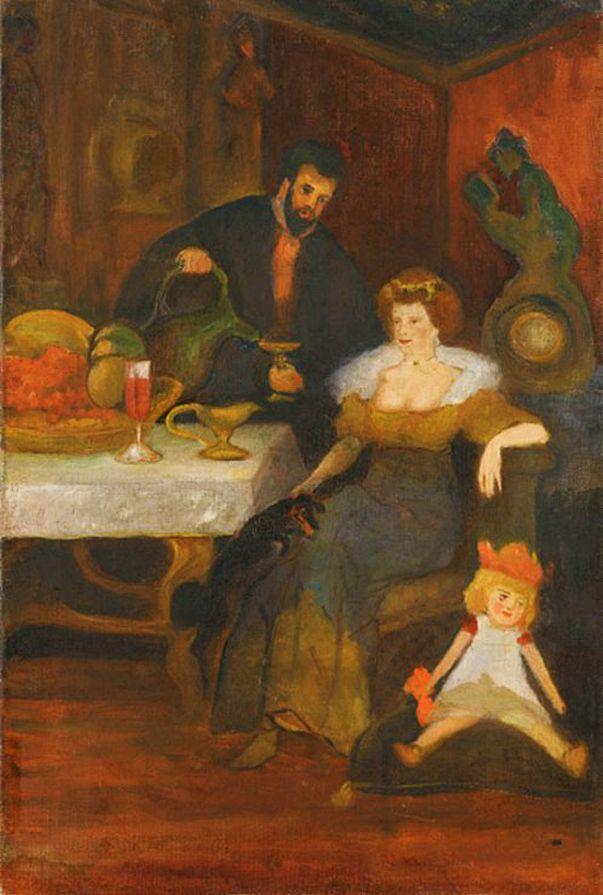Леон Хвістек. Бенкет, 1910