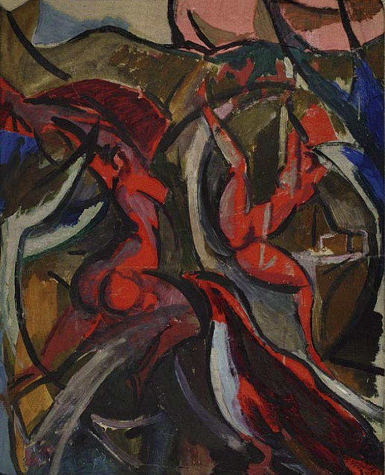 Леон Хвістек. Саламандра, 1920