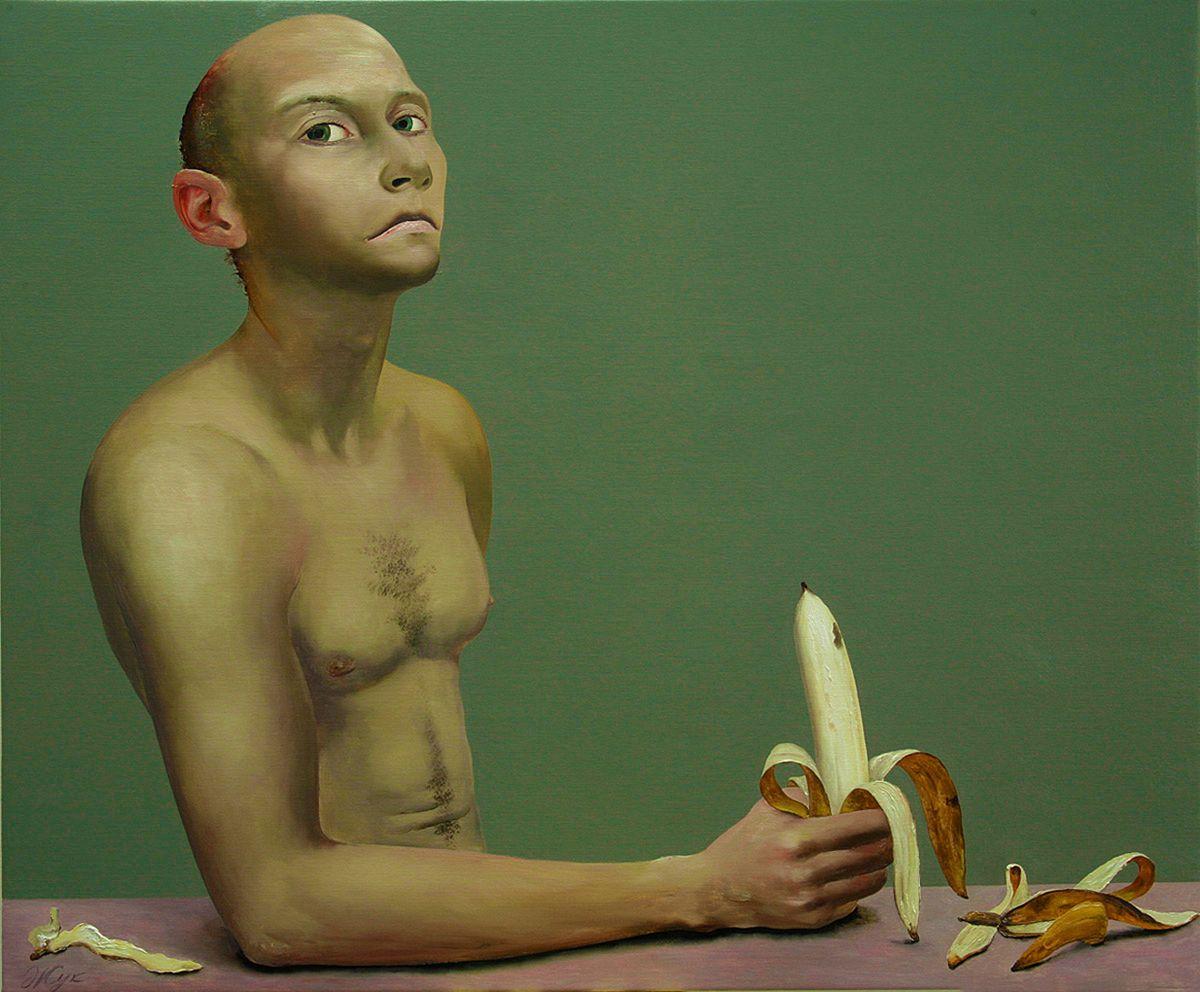 Роман Жук. Молодий чоловік з бананом, 2006