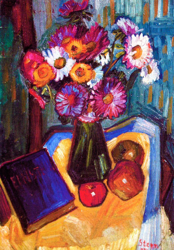 Йонаш Штерн. Квіти, 1932