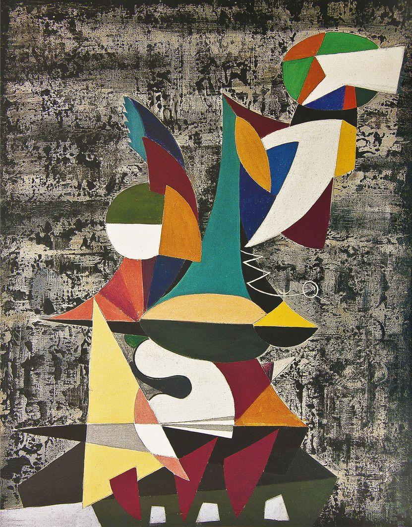 Йонаш Штерн. Ритми, 1955, колаж