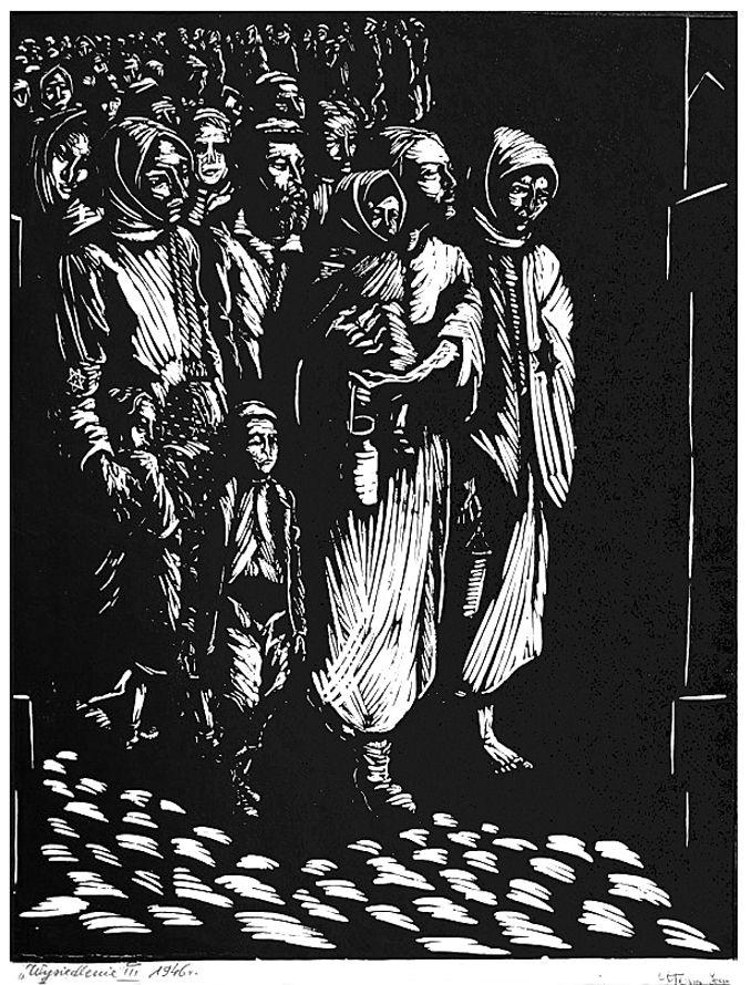 Йонаш Штерн. У Львівському гетто, 1945-46