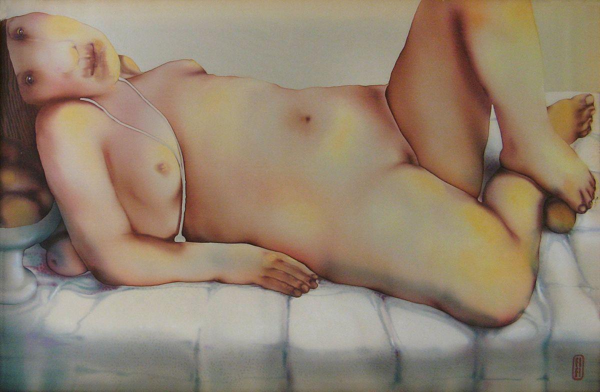 Анна Атоян. Дівчина з персиками