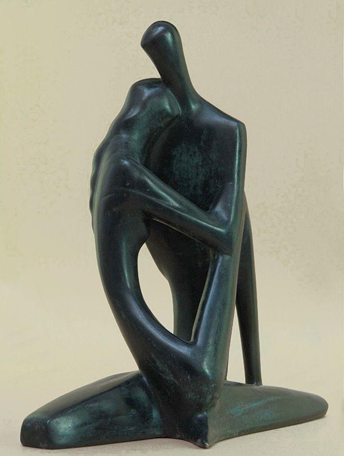 Володимир Одрехівський. Пісня пісень, 2008, бронза, h-35