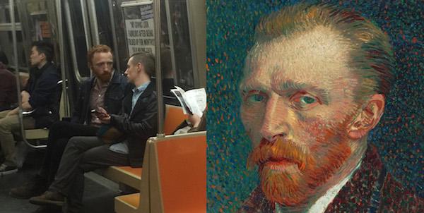 Ван Гог в метро