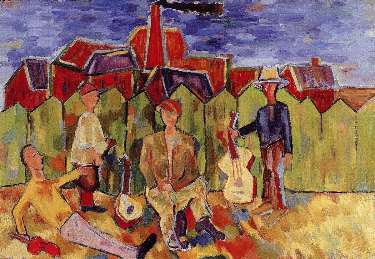 Генріх Штренг (Марк Влодарський). Музиканти, 1937