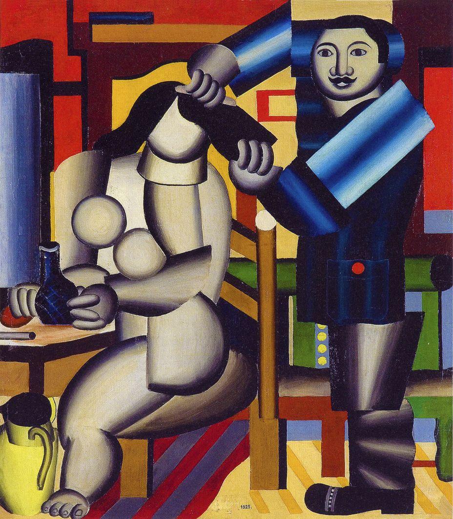 Генріх Штренг (Марк Влодарський). Перукар, 1925. Папір, олівець, MSL
