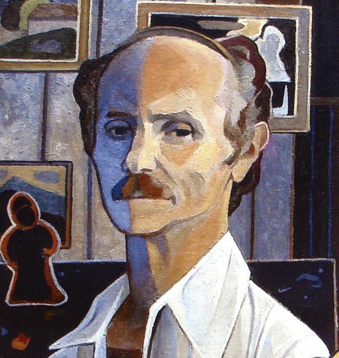 Михайло Ліщинер. Автопортрет, 1979